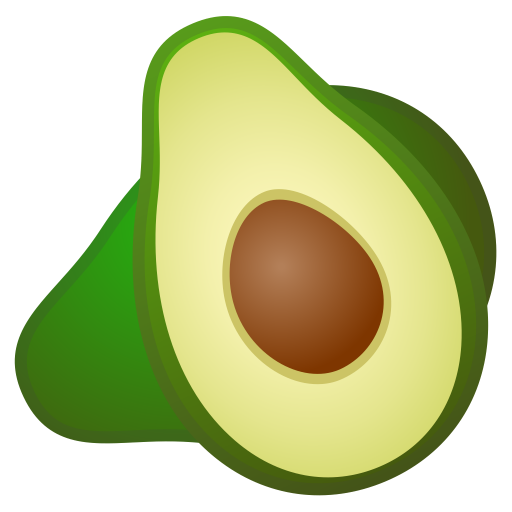 Avocado Icon Noto Emoji Food Drink Iconset Google
