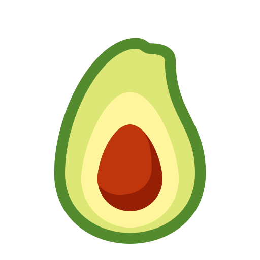 Avocado Icon Png And Vector For Free Download