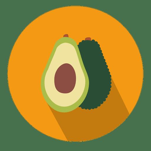 Avocado Circle Icon