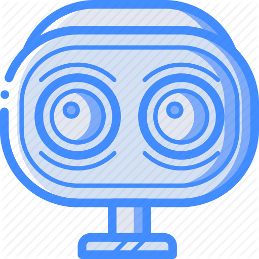 Avatars, Awake, Bot, Droid, Robot, Wide Icon