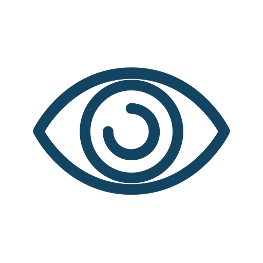View, Open, Watch, Eye, Handdrawn, See, Vision, Awake, Open Eye Icon