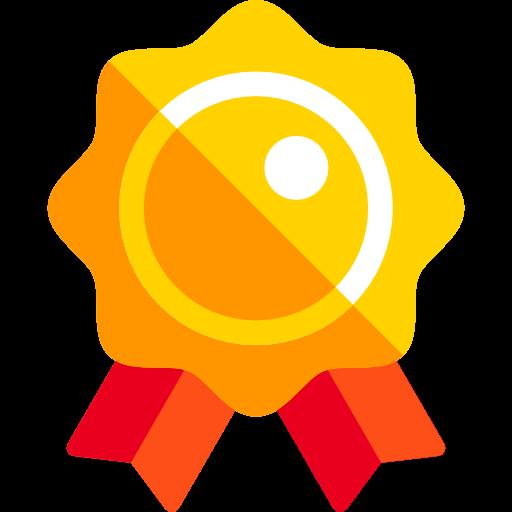 Badge, Reward, Award Icon