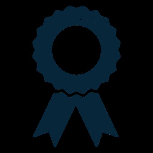 Graduation Award Ribbon Flat Icon