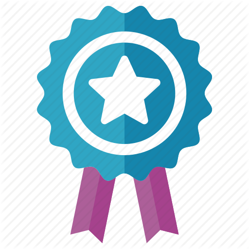 Achievement, Award, Ribbon, Winner Icon