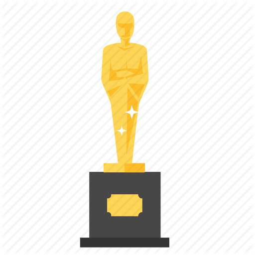 Award, Film, Trophy, Transparent Png Image Clipart Free Download