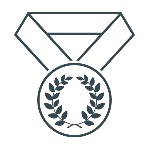 Medal, Best, Awards, Laurel, Award, Achievement, Winner Icon