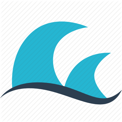Away, Ocean, Outdoors, Travel, Vacation, Water, Waves Icon
