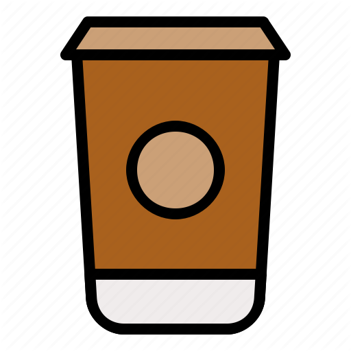 Beverage, Drink, Paper Cup, Take Away Icon