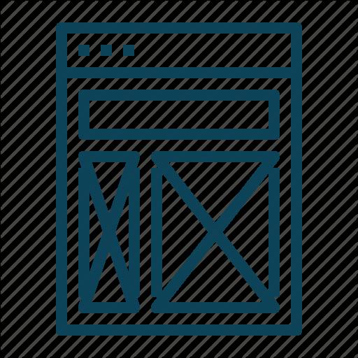 Axure, Design, Page, Prototype Icon