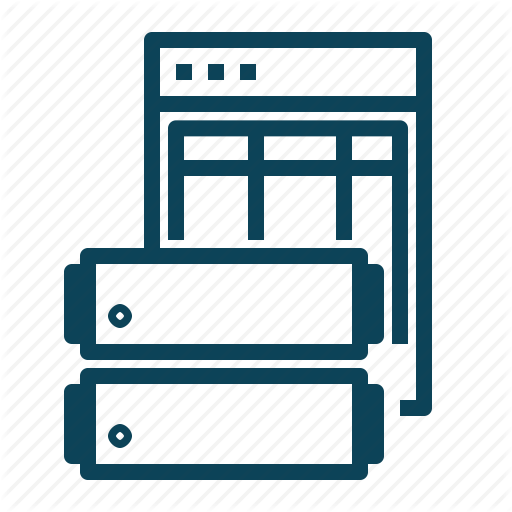 Data, Datatable, Server, Table Icon