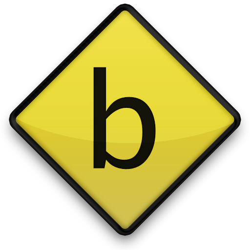 Vector Letter B Icon