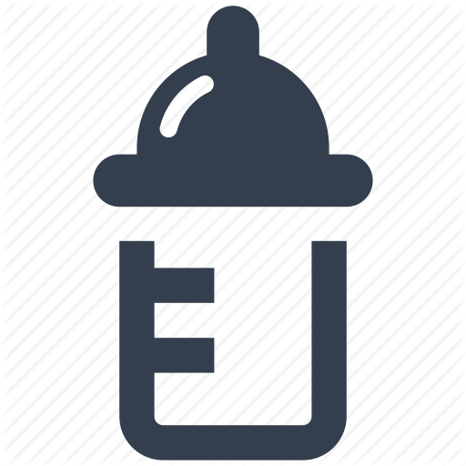 Baby, Bottle, Drink, Food, Milk Icon
