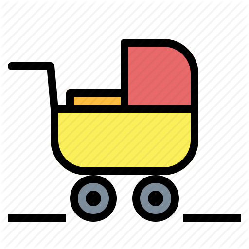 Baby, Carriage, Prams, Strollers Icon