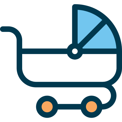Baby Carriage Png Icon