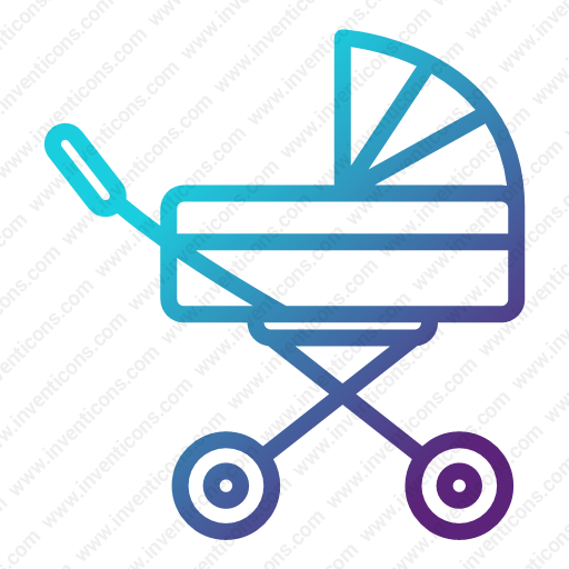 Download Baby,carriage Icon Inventicons