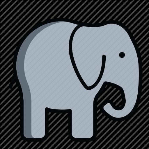 African, Animal, Baby Elephant, Bishop, Elephant, Wild, Zoo Icon