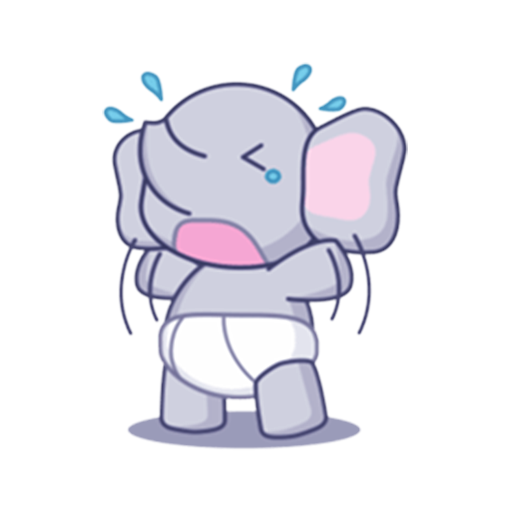 Baby Elephant Stickers For Whatsapp Wastickerapps Latest Version