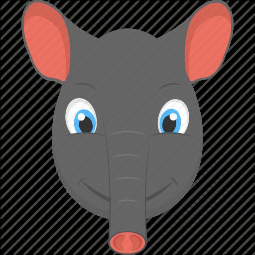 Baby Elephant, Elephant Face, Fauna, Smiling Elephant, Wild Animal