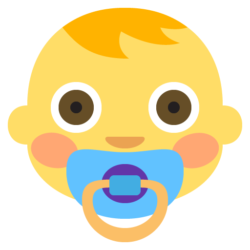 Baby Emoji Emoticon Vector Icon Free Download Vector Logos Art