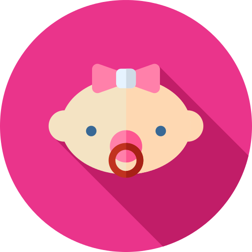 Baby Girl Png Icon