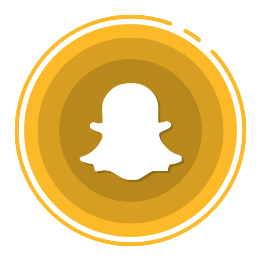 Social Media Icons, Snapchat Icon
