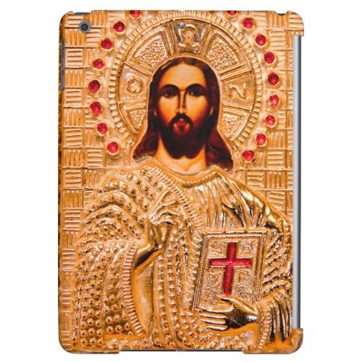 Jesus Christ Golden Icon Cover For Ipad Air Zazzlistic Friends