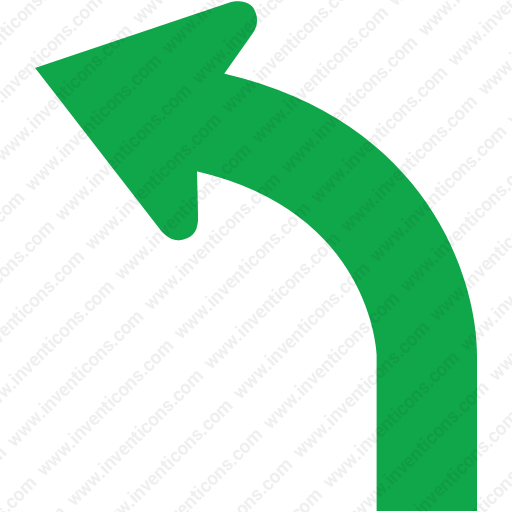 Download Arrow,left,back,previous,turn Icon Inventicons