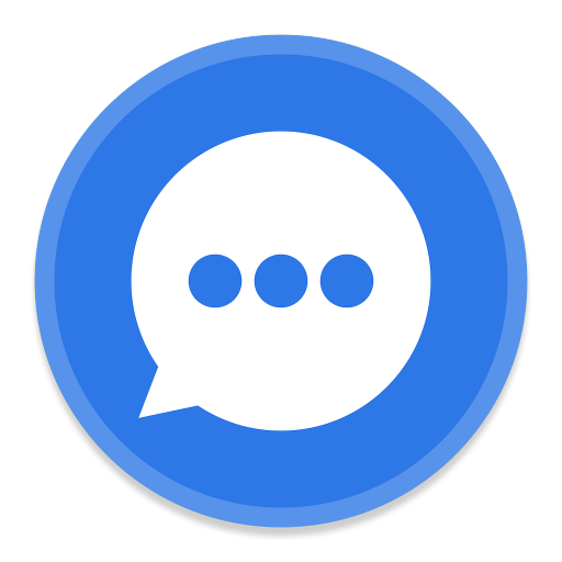 Messages Icon Button Ui System Apps Iconset Blackvariant