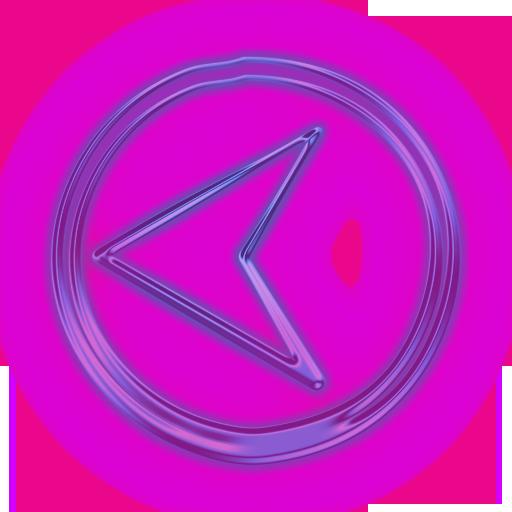Previous Button Clipart Purple
