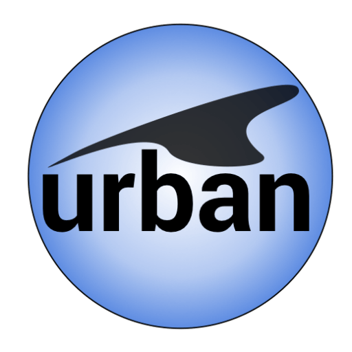 Cropped Urban Web Icon Urban