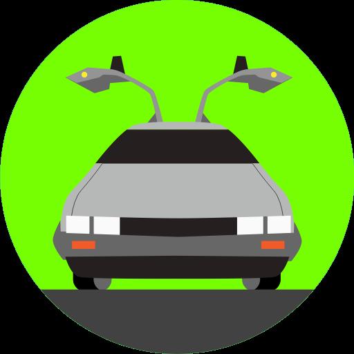 Back To The Future, Car, Delorean, Future, Transport
