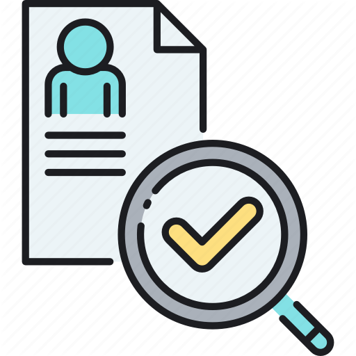 Background, Background Check, Check, Review Icon
