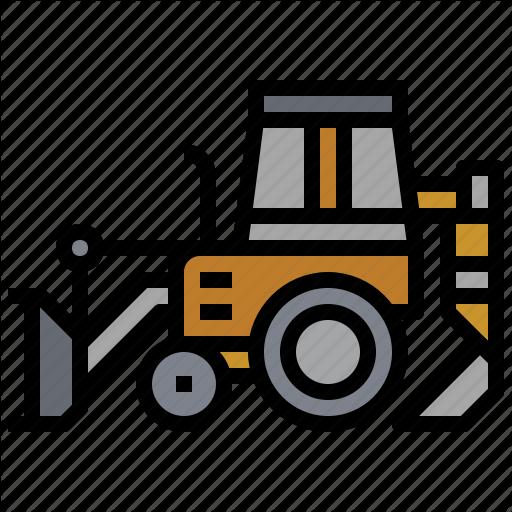Backhoe, Bulldozer, Car, Construction, Loder, Transportation