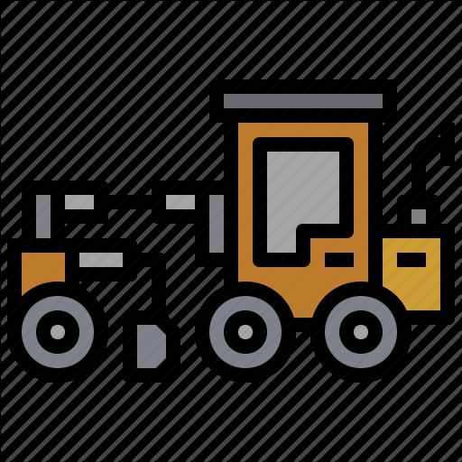 Bulldozer, Car, Construction, Grader, Motor, Transportation, Truck