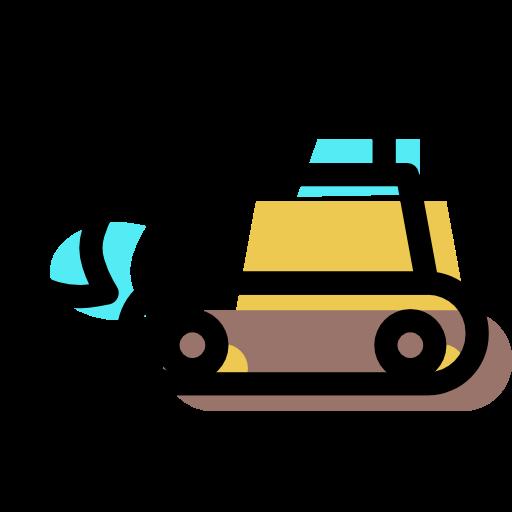 Excavator Icon Free Of Machine Color Set Icons