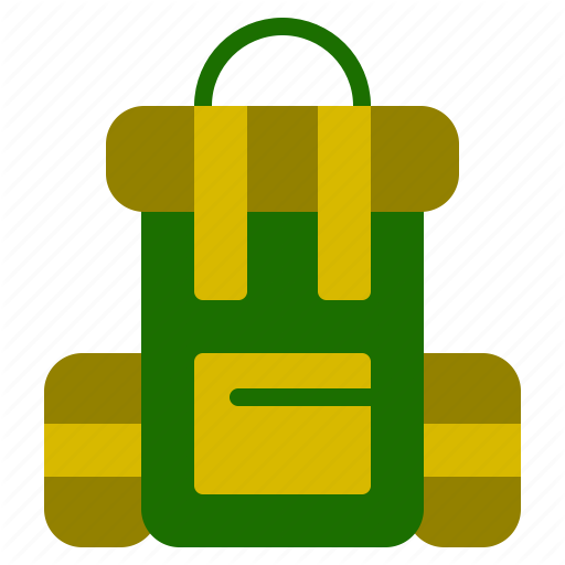 Backpack, Bag, Camping, Outdoor Icon