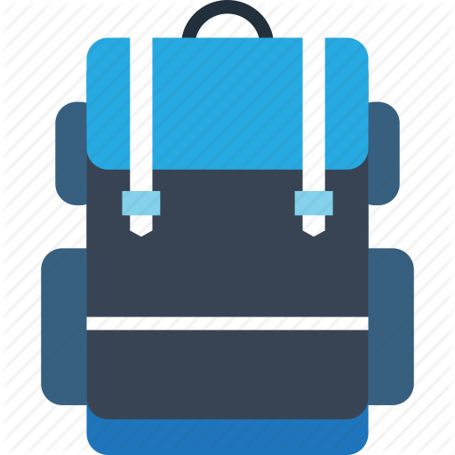 Backpack, Hike, Travel, Trekking, Trip, Vacation Icon