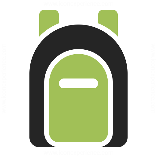 Backpack Icon Iconexperience