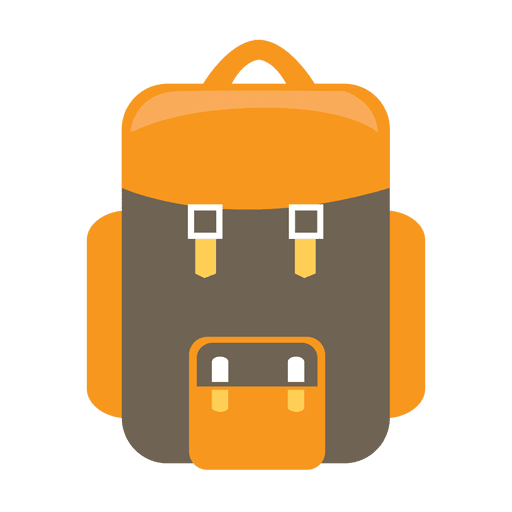 Backpack Camping Icon