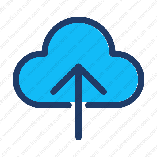 Download Upload,storage,cloud,backup Icon Inventicons
