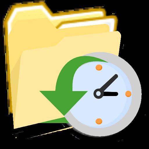 Modernxp Folder Backup Scheduled Icon Modern Xp Iconset