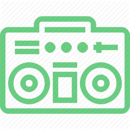 Audio, Boom Box, Music, Player, Recorder, Retro, Sound Icon