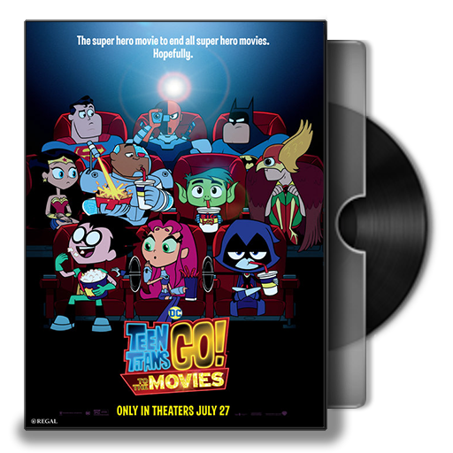 Teen Titans Go! To The Movies Folder Icon