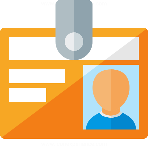 Iconexperience G Collection Id Badge Icon
