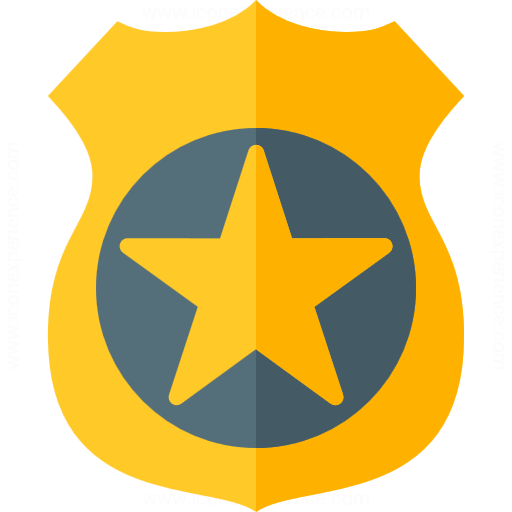 Iconexperience G Collection Security Badge Icon