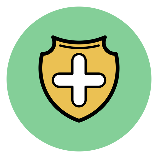 Medical Cross Badge Icon