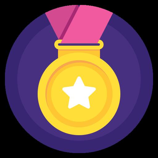 Prize, Winner, Sport, Win, Award, Medal, Badge Icon