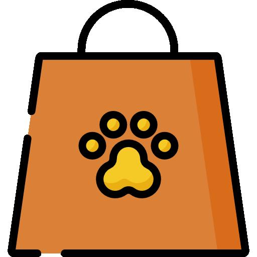Shopping Bag Icon Pet Shop Freepik