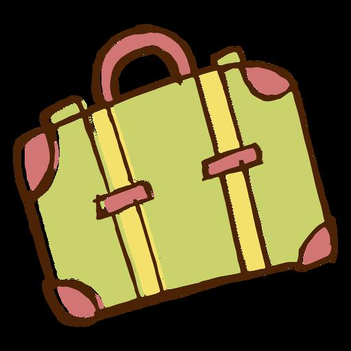 Camping Travel Bag Icon