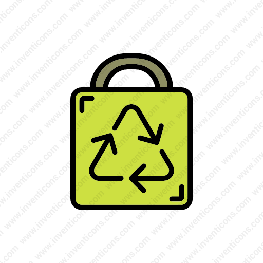 Download Recycle,bag Icon Inventicons